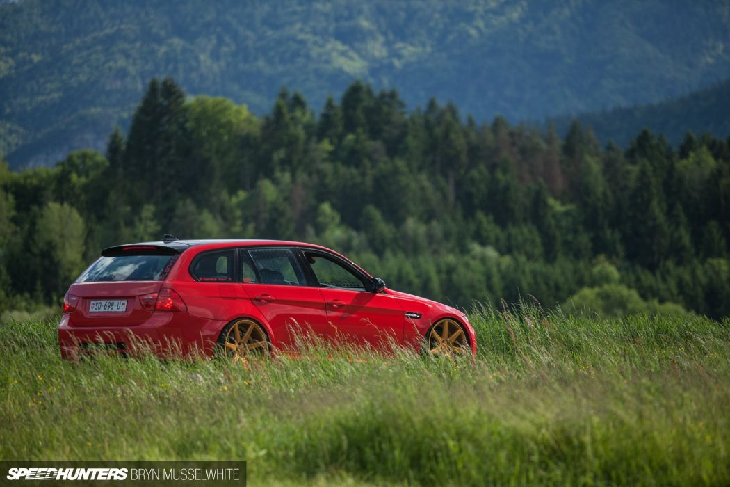 BMW E91 M-3 tuning stationwagon e wallpaper