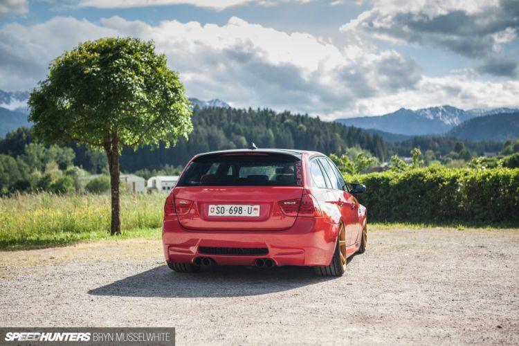 BMW E91 M-3 tuning stationwagon f wallpaper