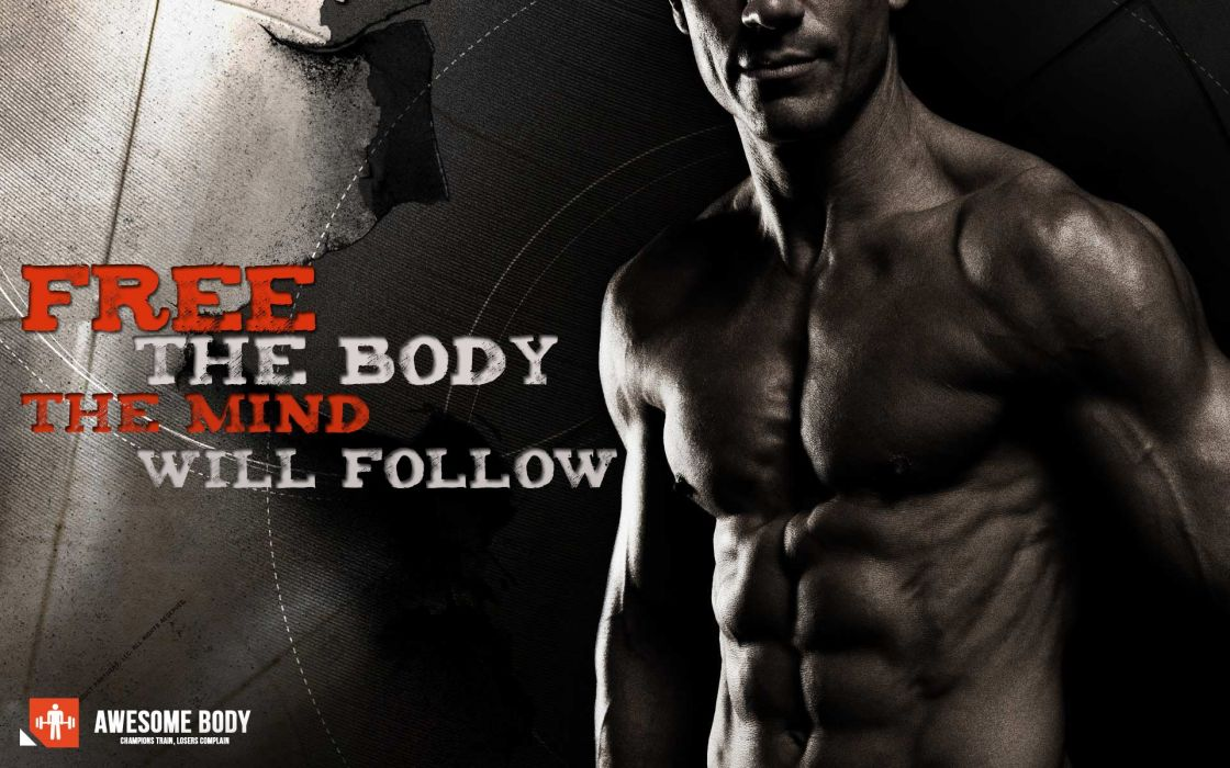 body-building fitness muscle muscles weight lifting Bodybuilding (19) wallpaper