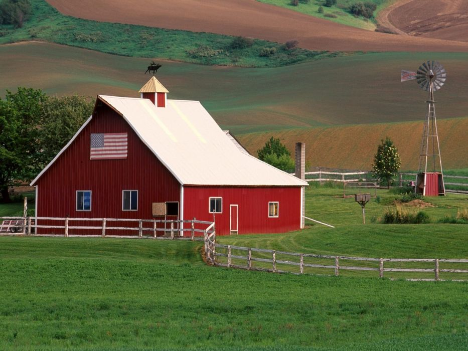 farms building rustic farm barn vintage (24) wallpaper
