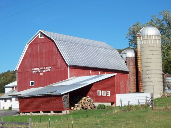 farms building rustic farm barn vintage (6) wallpaper