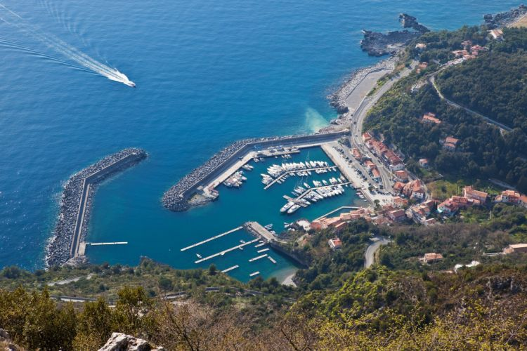 Italy Houses Marinas Coast Maratea wallpaper