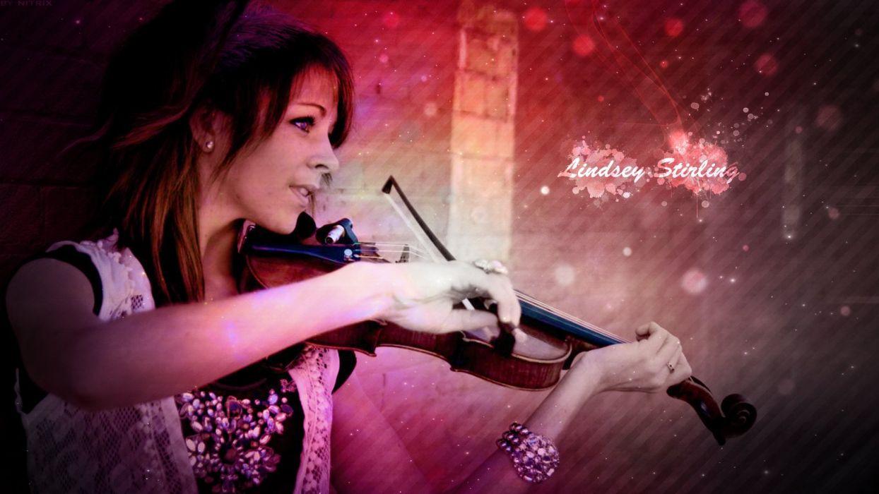 LINDSEY STIRLING violin violinist electronic classical crossover dubstep (8) wallpaper