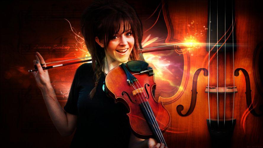 LINDSEY STIRLING violin violinist electronic classical crossover dubstep (2) wallpaper
