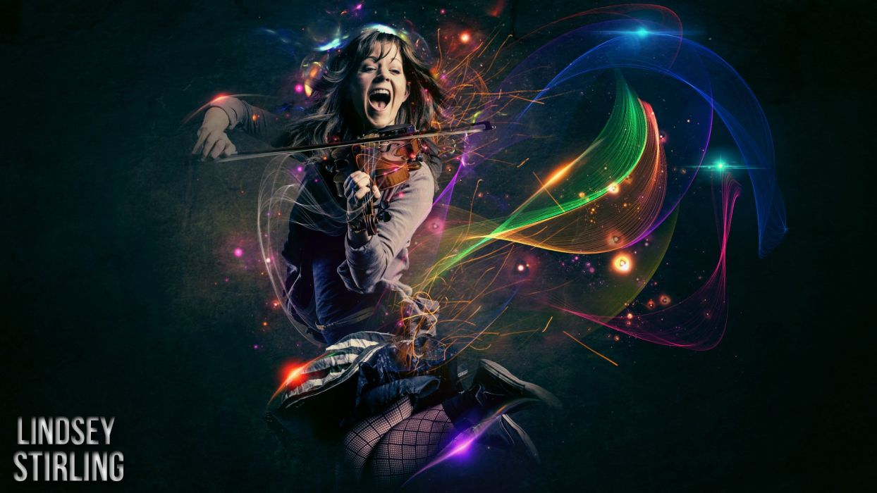 LINDSEY STIRLING violin violinist electronic classical crossover dubstep wallpaper