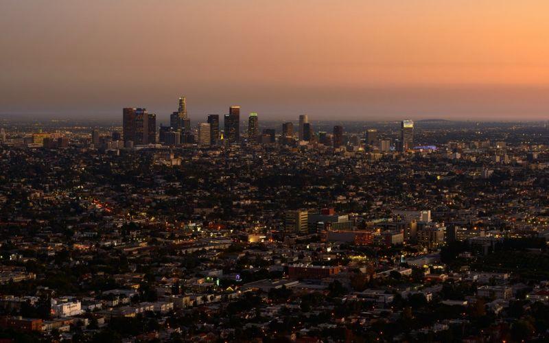 Los AngelesBuildings skyscrapers LA wallpaper