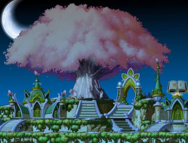 MAPLESTORY mmo online rpg scrolling fantasy 2-d family maple story (2) wallpaper
