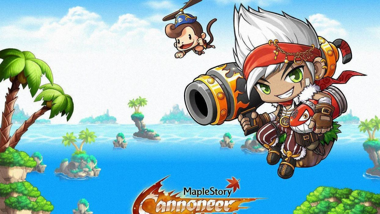 Maplestory Mmo Online Rpg Scrolling Fantasy 2 D Family Maple Story 14 Wallpaper 19x1080 Wallpaperup
