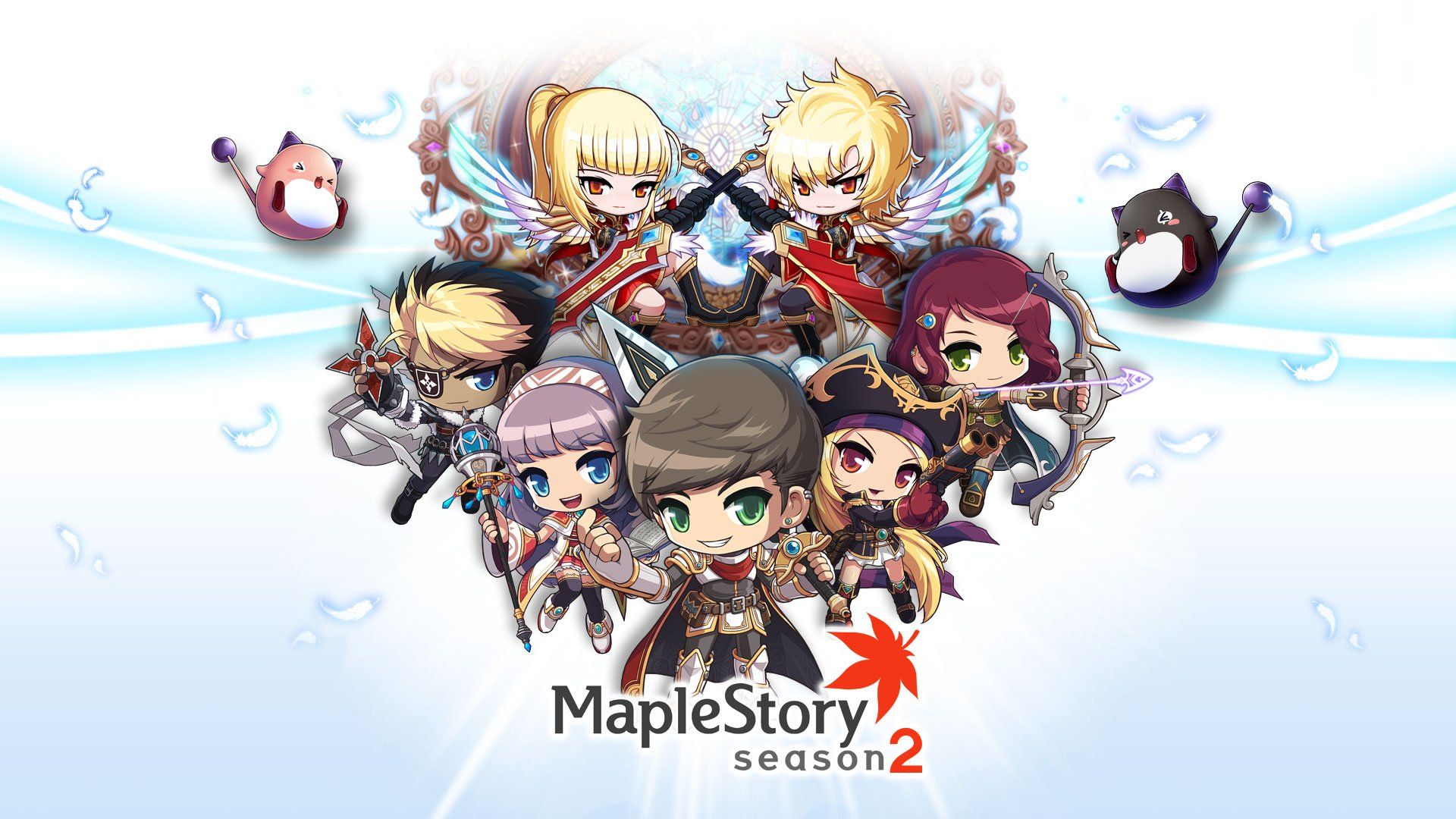 Maplestory Mmo Online Rpg Scrolling Fantasy 2 D Family Maple Story Wallpaper 19x1080 Wallpaperup