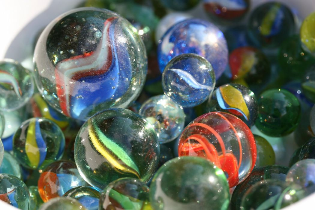 marbles glass circle bokeh toy ball marble sphere (2) wallpaper