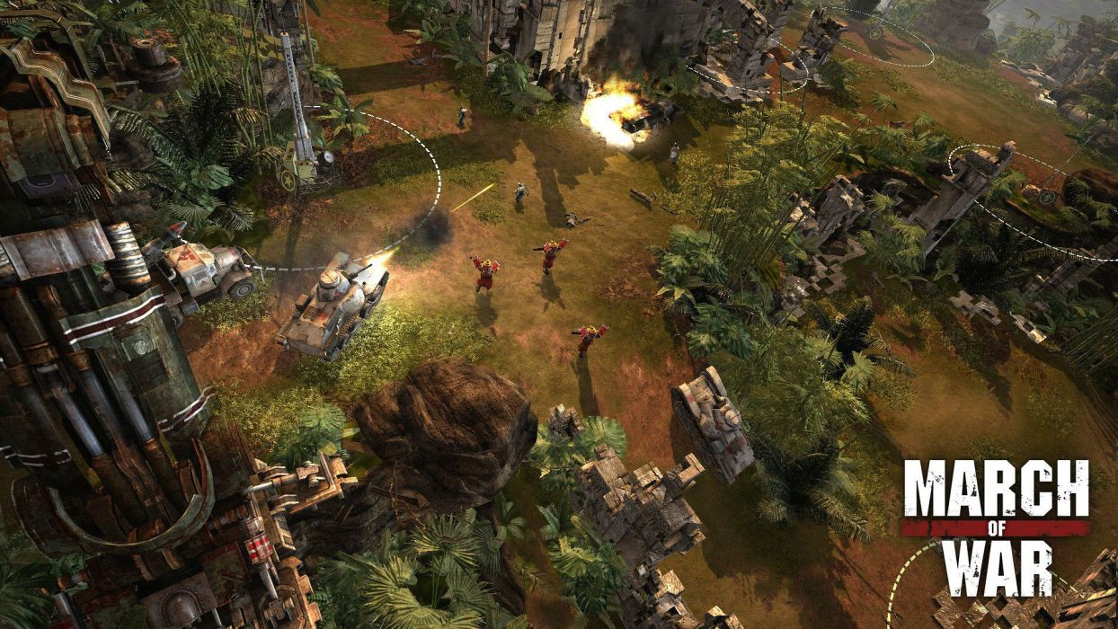 MARCH-OF-WAR fighting online strategy rpg war battle tactical march sci-fi mmo (8) wallpaper
