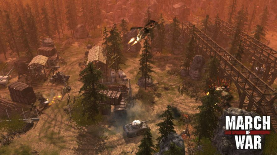 MARCH-OF-WAR fighting online strategy rpg war battle tactical march sci-fi mmo (12) wallpaper