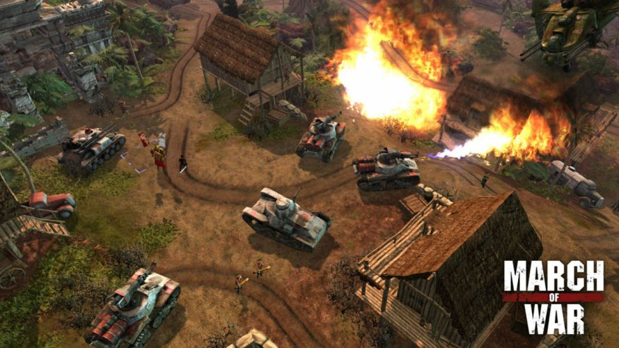 MARCH-OF-WAR fighting online strategy rpg war battle tactical march sci-fi mmo (13) wallpaper