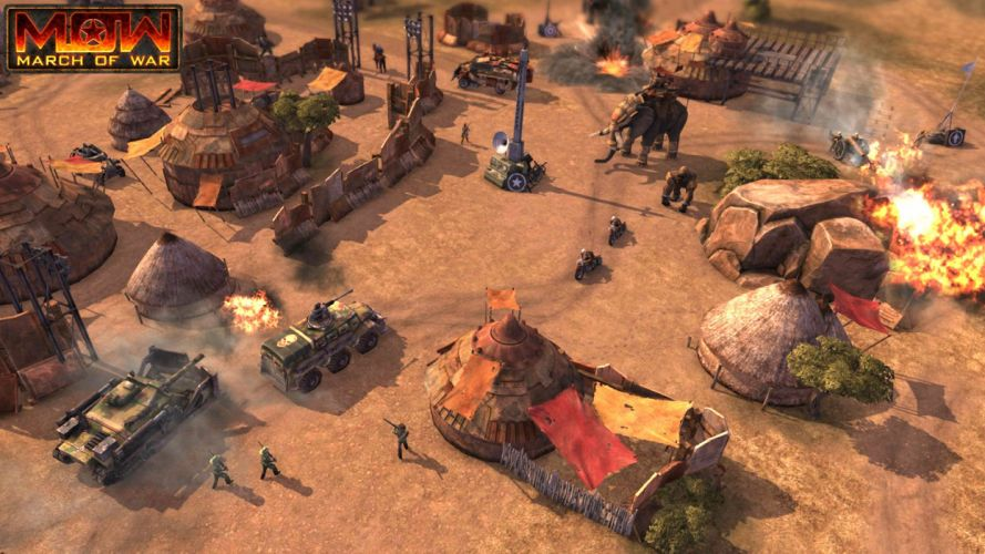 MARCH-OF-WAR fighting online strategy rpg war battle tactical march sci-fi mmo (2) wallpaper