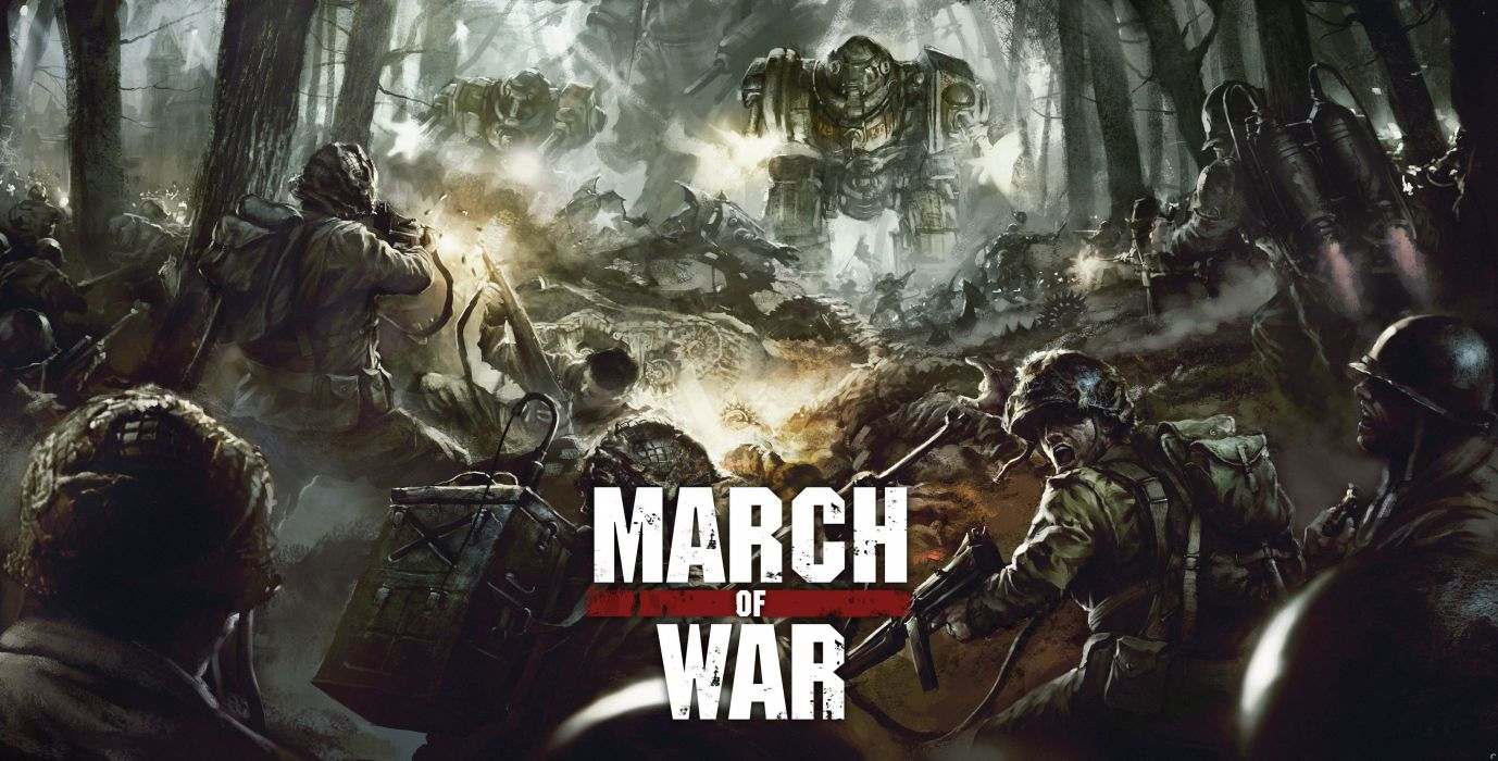 MARCH-OF-WAR fighting online strategy rpg war battle tactical march sci-fi mmo (27) wallpaper