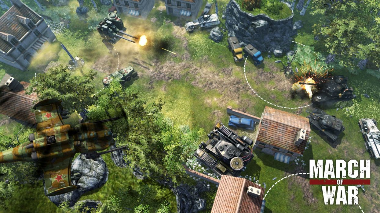 MARCH-OF-WAR fighting online strategy rpg war battle tactical march sci-fi mmo (5) wallpaper