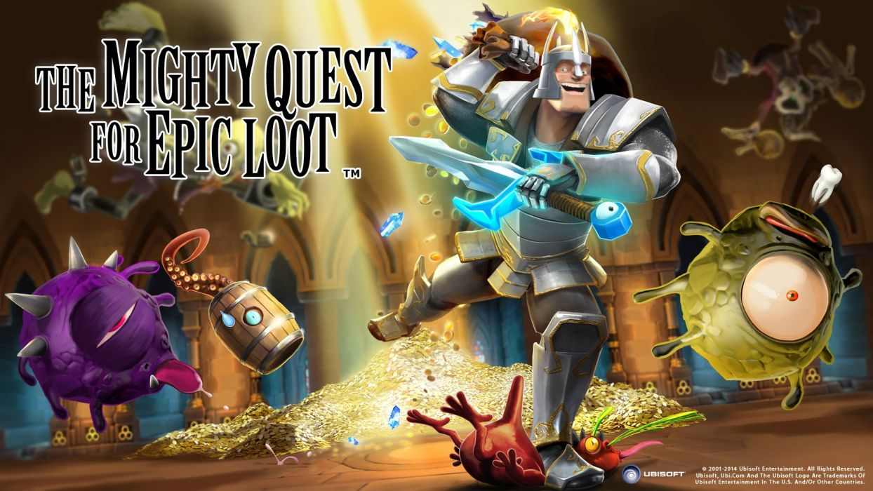 MIGHTY-QUEST-EPIC-LOOT medieval fantasy real-time strategy family mighty quest epic loot (14) wallpaper