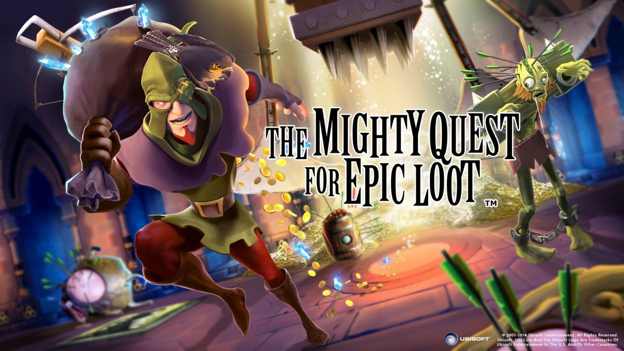 MIGHTY-QUEST-EPIC-LOOT medieval fantasy real-time strategy family mighty quest epic loot (13) wallpaper