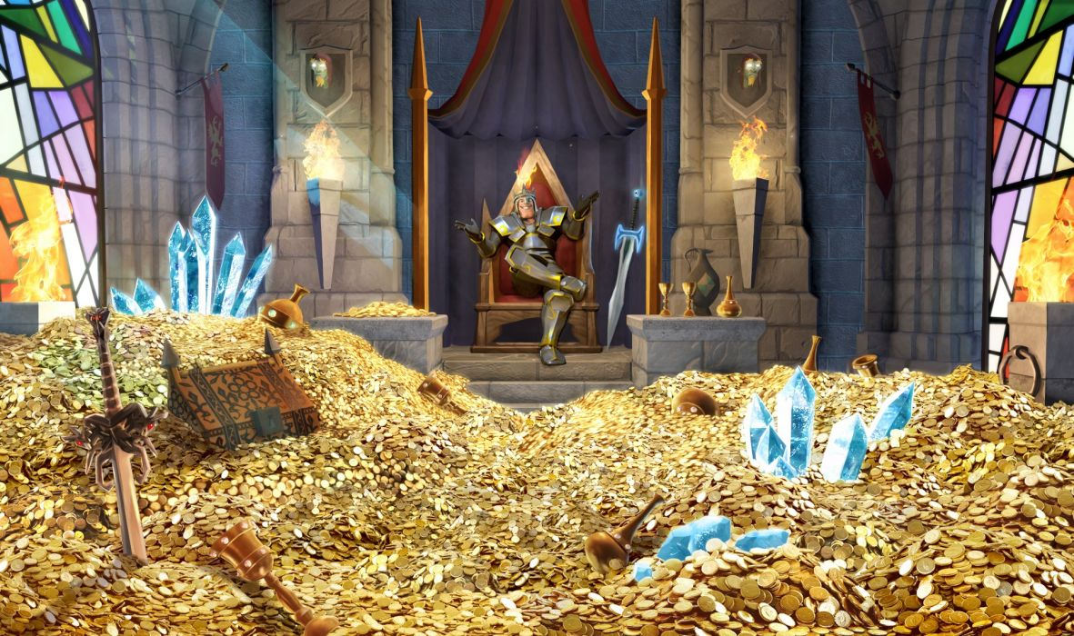 MIGHTY-QUEST-EPIC-LOOT medieval fantasy real-time strategy family mighty quest epic loot (7) wallpaper