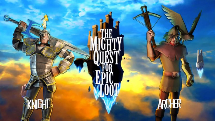 MIGHTY-QUEST-EPIC-LOOT medieval fantasy real-time strategy family mighty quest epic loot (28) wallpaper