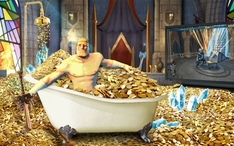 MIGHTY-QUEST-EPIC-LOOT medieval fantasy real-time strategy family mighty quest epic loot (24) wallpaper