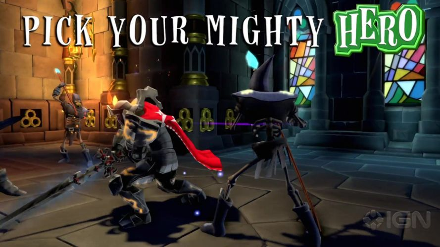 MIGHTY-QUEST-EPIC-LOOT medieval fantasy real-time strategy family mighty quest epic loot (35) wallpaper
