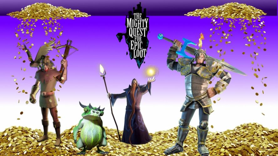 MIGHTY-QUEST-EPIC-LOOT medieval fantasy real-time strategy family mighty quest epic loot (18) wallpaper