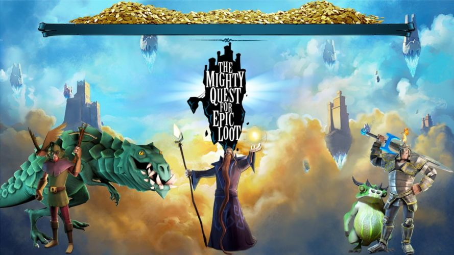 MIGHTY-QUEST-EPIC-LOOT medieval fantasy real-time strategy family mighty quest epic loot (44) wallpaper