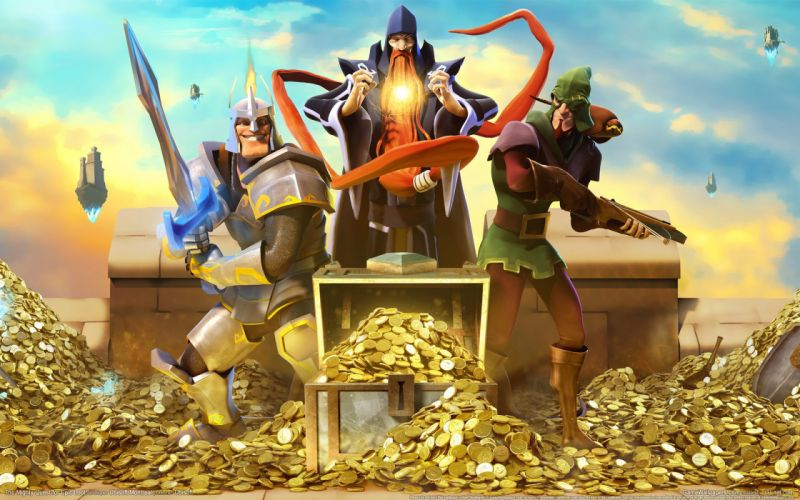 MIGHTY-QUEST-EPIC-LOOT medieval fantasy real-time strategy family mighty quest epic loot (48) wallpaper