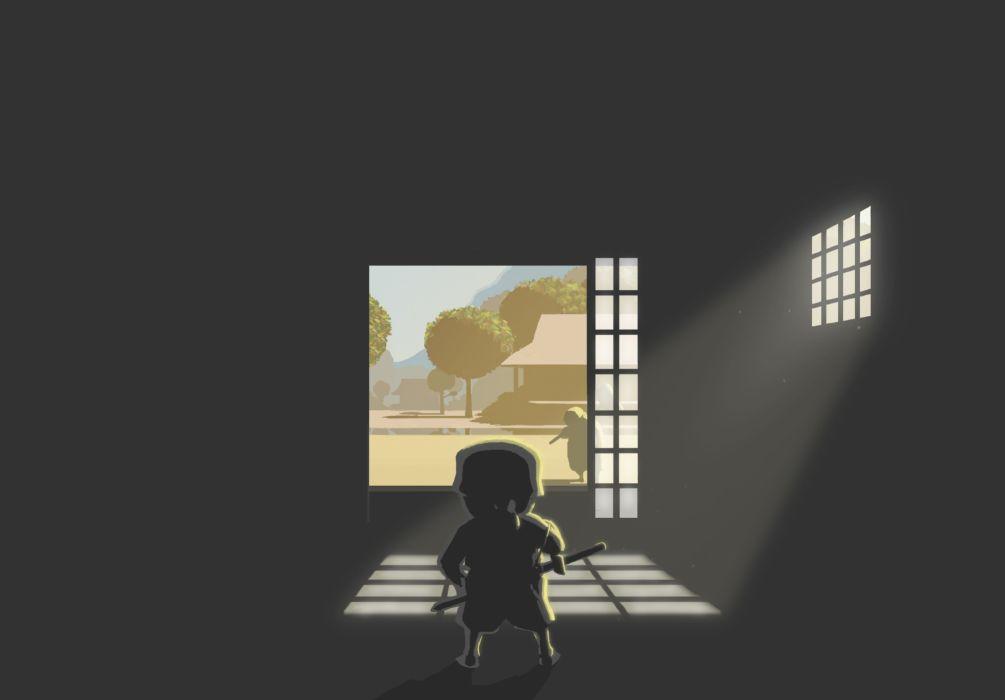MINI-NINJAS action stealth exploration adventure family ninja fantasy mini (7) wallpaper