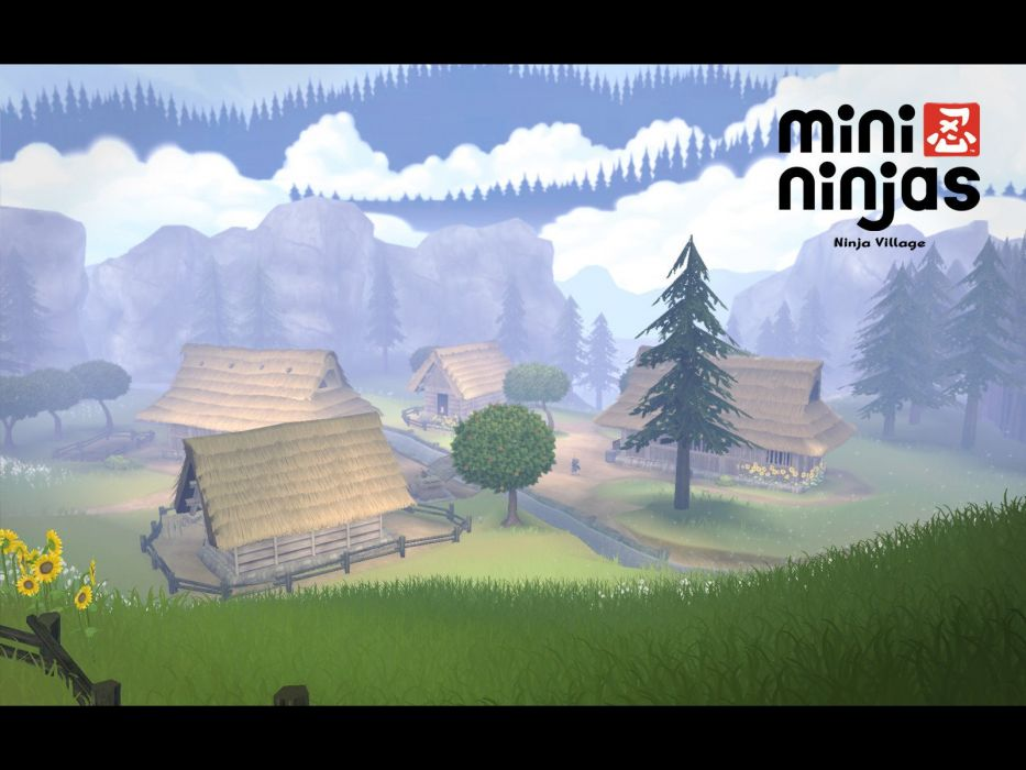 MINI-NINJAS action stealth exploration adventure family ninja fantasy mini (2) wallpaper