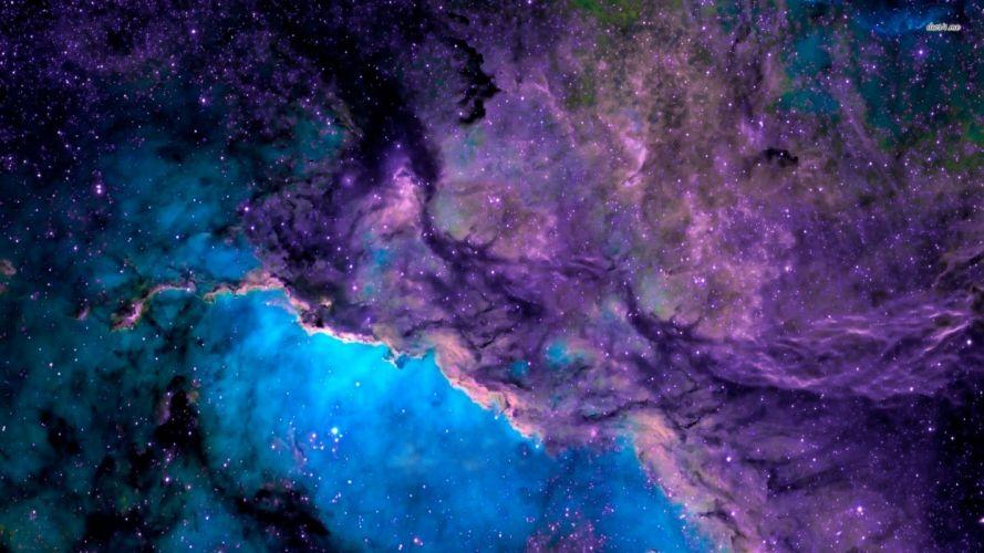Blue Nebula wallpaper