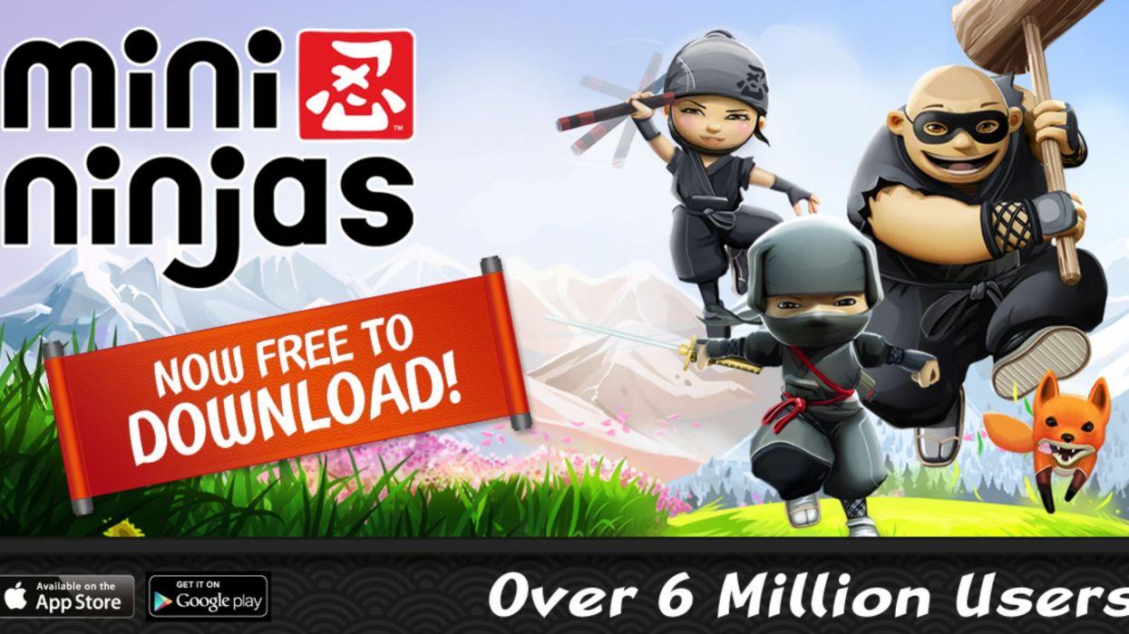 MINI-NINJAS action stealth exploration adventure family ninja fantasy mini (35) wallpaper