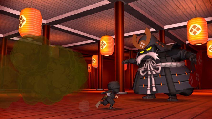 MINI-NINJAS action stealth exploration adventure family ninja fantasy mini (30) wallpaper