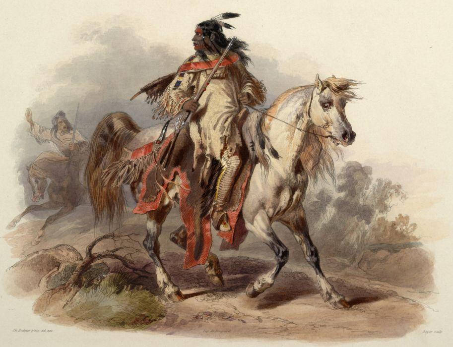 native american indian western (2) wallpaper