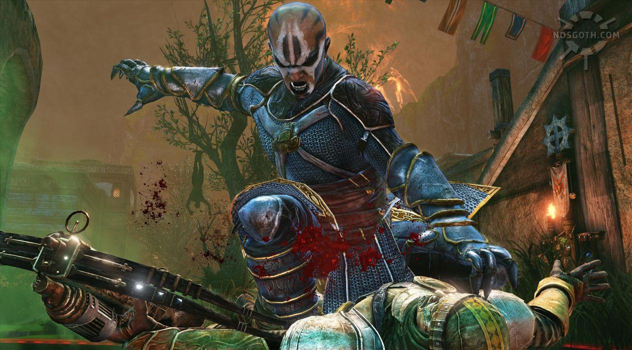 NOSGOTH action vampire online fighting fantasy sci-fi steampunk (16) wallpaper