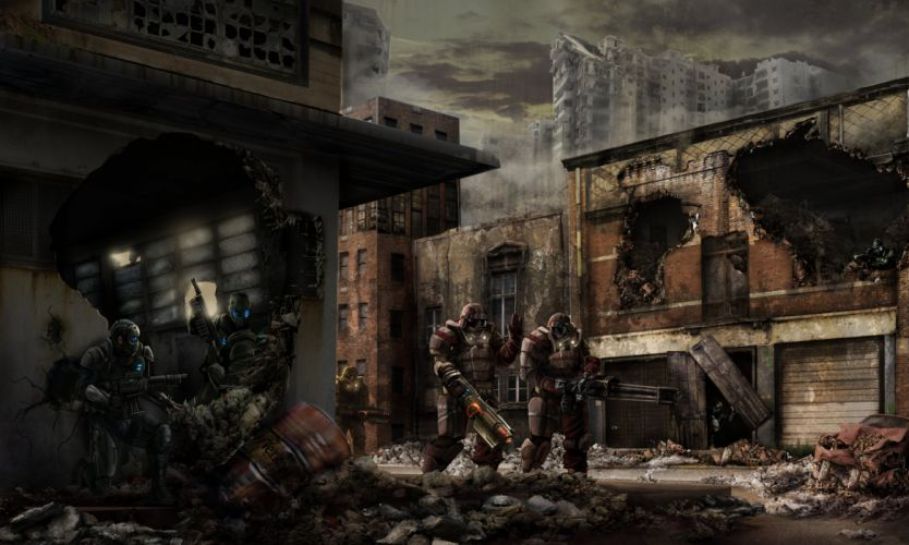 NUCLEAR-DAWN fps shooter sci-fi real-time strategy apocalyptic nuclear dawn (14) wallpaper