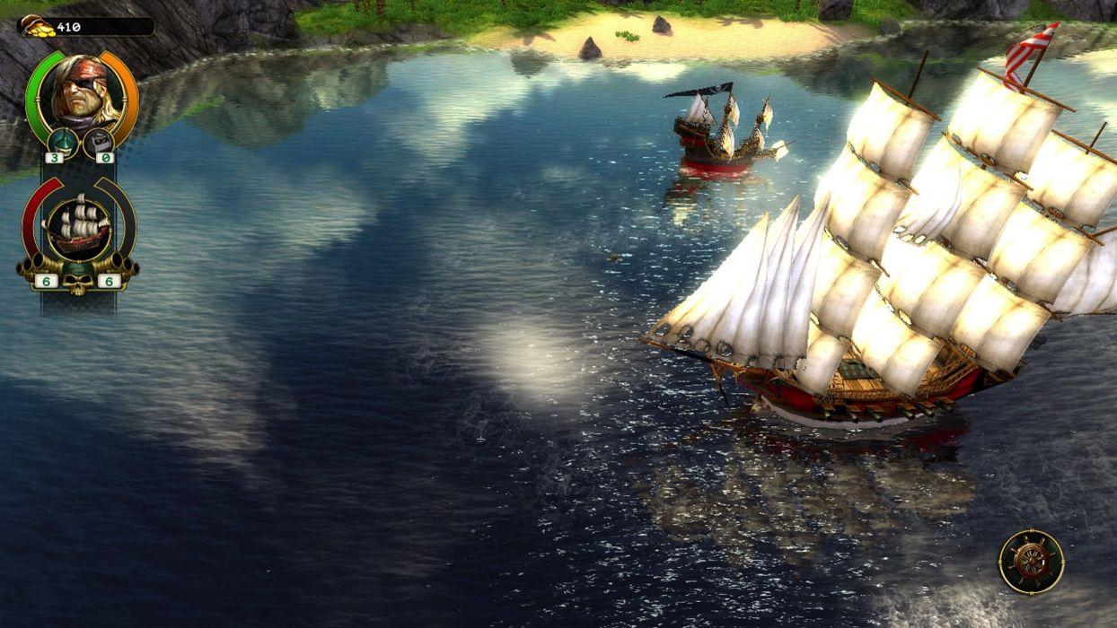 PIRATES-OF-BLACK-COVE arcade fantasy pirate real-time strategy adventure pirates blaxk cove (7) wallpaper