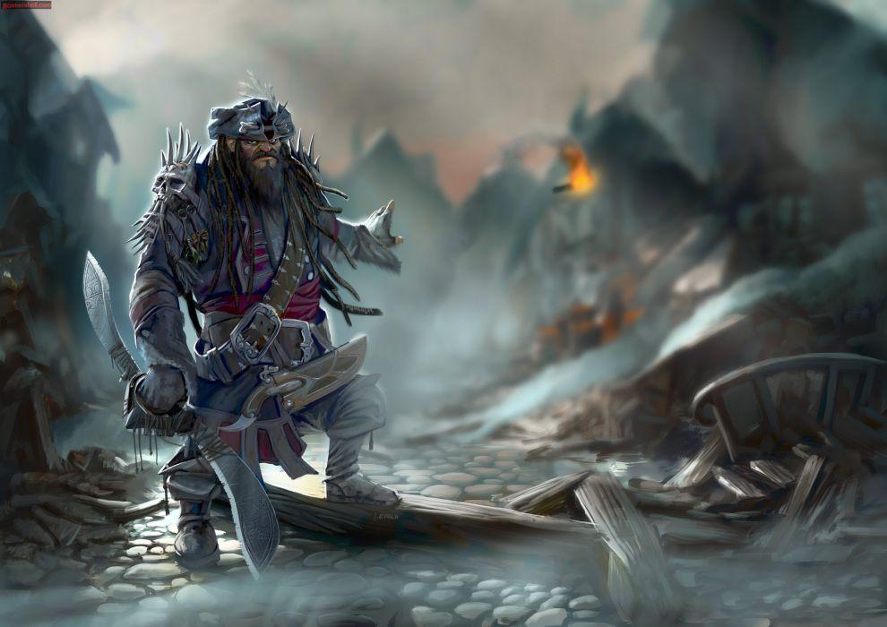 PIRATES-OF-BLACK-COVE arcade fantasy pirate real-time strategy adventure pirates blaxk cove (20) wallpaper