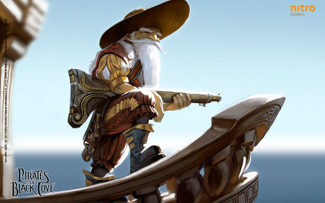 PIRATES-OF-BLACK-COVE arcade fantasy pirate real-time strategy adventure pirates blaxk cove (25) wallpaper