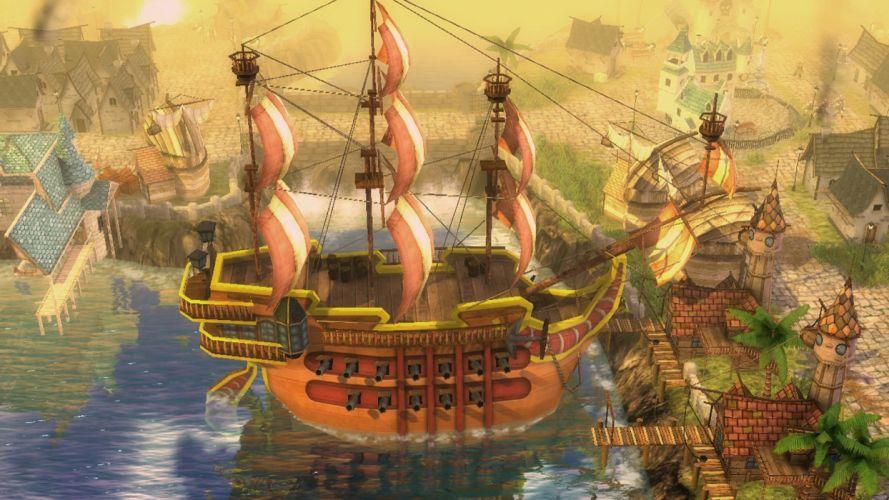 PIRATES-OF-BLACK-COVE arcade fantasy pirate real-time strategy adventure pirates blaxk cove (6) wallpaper