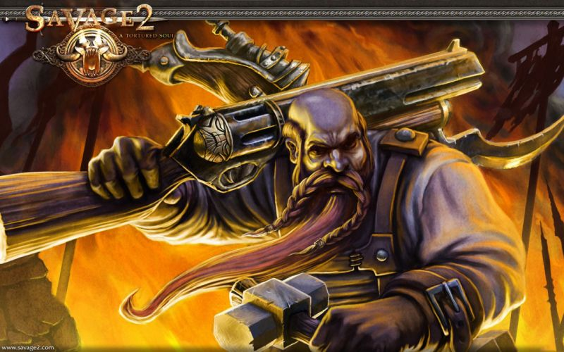SAVAGE fps fantasy real-time strategy fantasy shooter (2) wallpaper