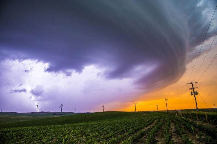 tornado storm rain disaster nature sky (10) wallpaper