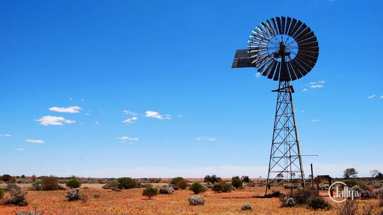 windmill farm mill wind power landscape rustic (4) wallpaper