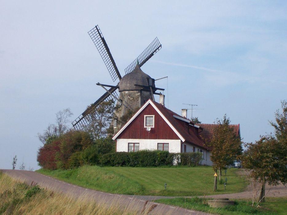 windmill farm mill wind power landscape rustic (13) wallpaper