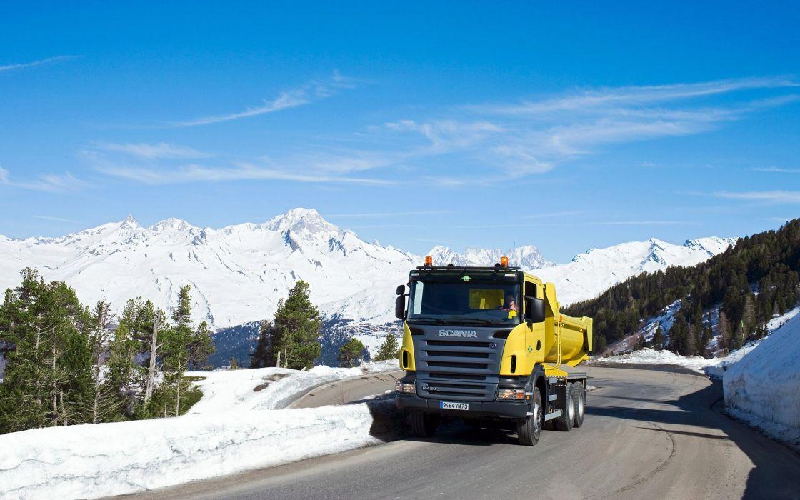 Scania R420 wallpaper