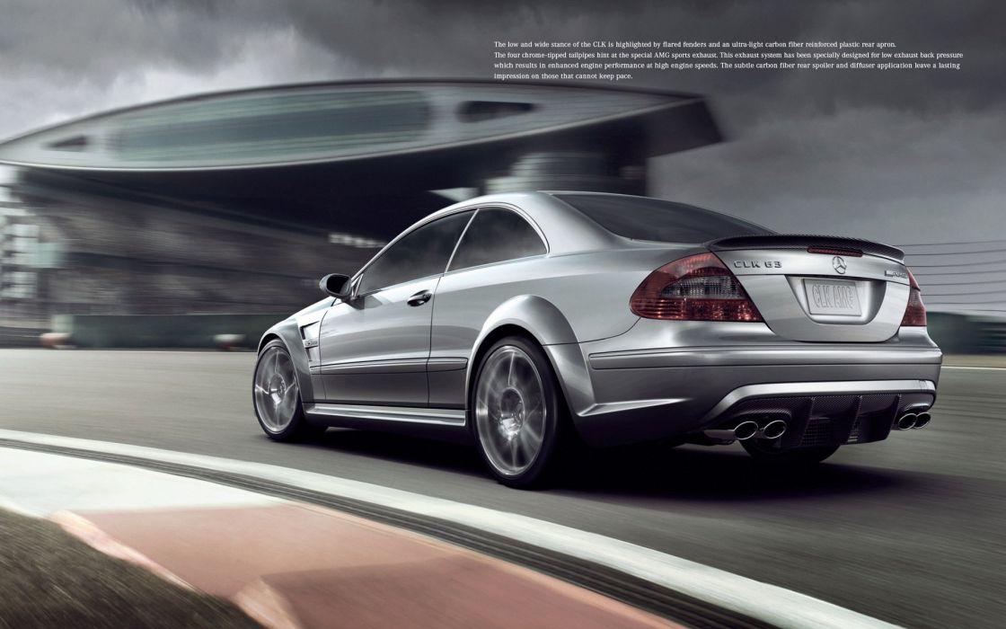 Mercedes Benz CLK63 AMG wallpaper