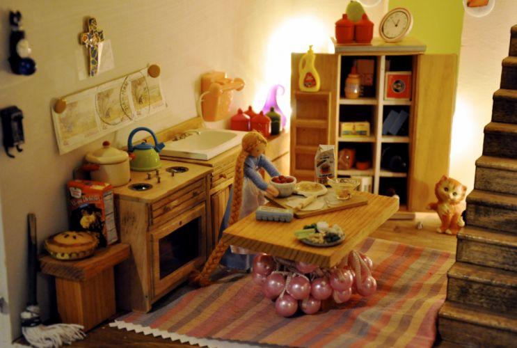 doll-house doll house toy family bokeh houses dolls toys wallpaper