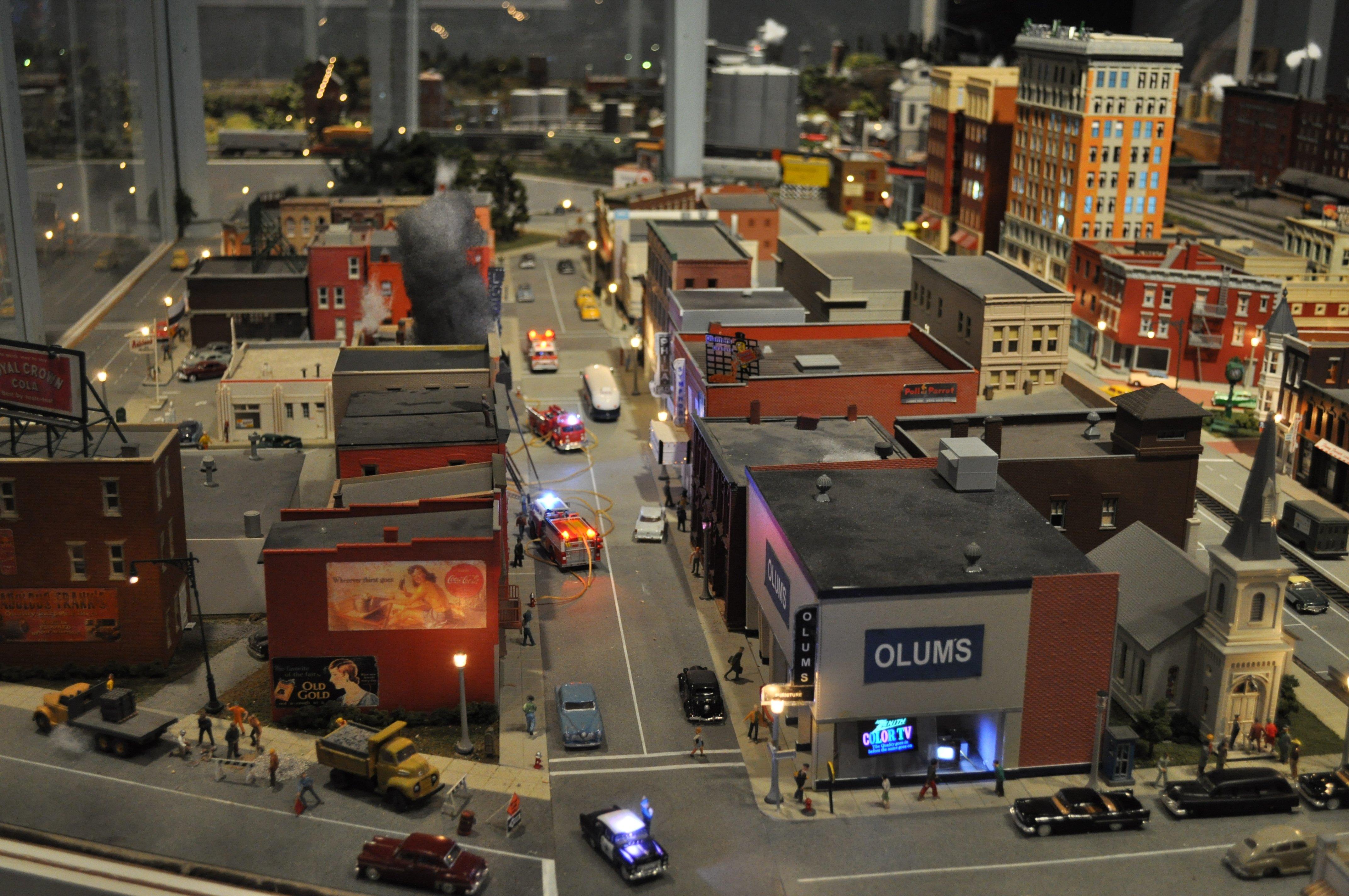 Model Train Train Toy Model Railroad Minature Trains