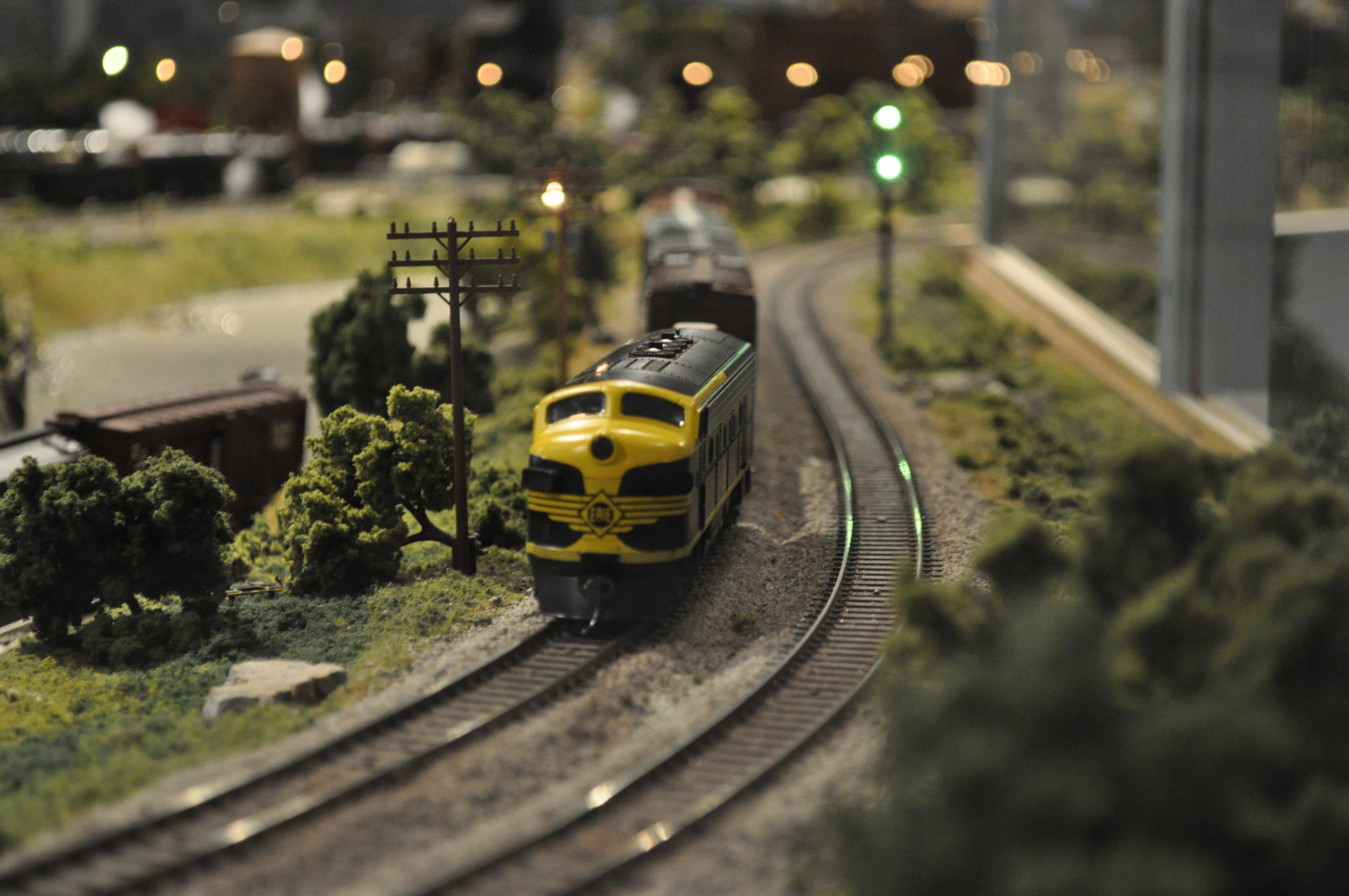 Tracks For Vehicles >> MODEL-TRAIN train toy model railroad minature trains tracks wallpaper | 4288x2848 | 417679 ...